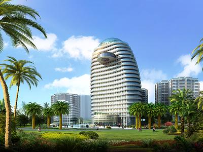 五指山市绿洲岛规划及建筑设计